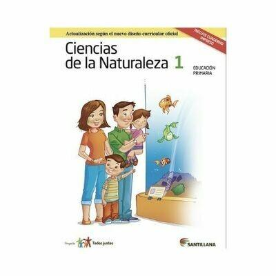 Pack Ciencias de la Naturaleza 1. Primaria. Serie Todos Juntos 2017. Santillana