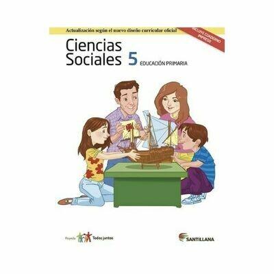 Pack Ciencias Sociales 5. Primaria. Serie Todos Juntos 2017. Santillana