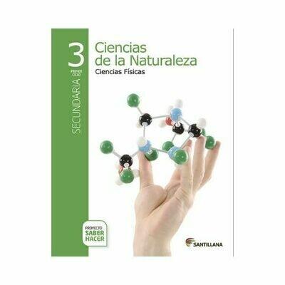Pack Ciencias de la Naturaleza 3. Secundaria. Serie Saber Hacer. Santillana