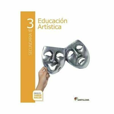 Educacion Artistica 3. Secundaria. Serie Saber Hacer. Santillana