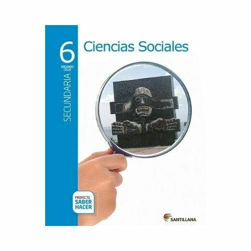 Pack Ciencias Sociales 6. Secundaria. Serie Saber Hacer. Santillana