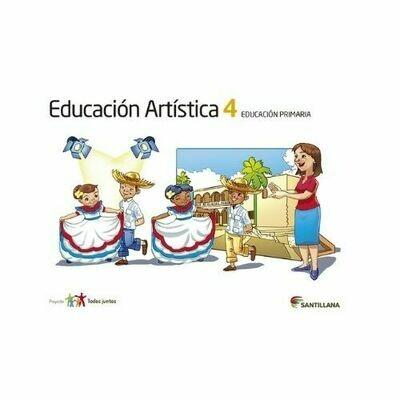 Educacion Artistica 4. Primaria. Serie Todos Juntos. Santillana