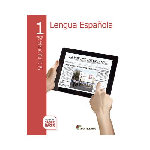 Pack Lengua Española 1. Secundaria. Serie Saber Hacer. Santillana