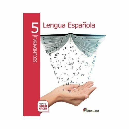 Pack Lengua Española 5. Secundaria. Serie Saber Hacer. Santillana