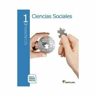 Pack Ciencias Sociales 1. Secundaria. Serie Saber Hacer. Santillana