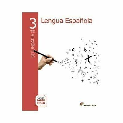 Pack Lengua Española 3. Secundaria. Serie Saber Hacer. Santillana
