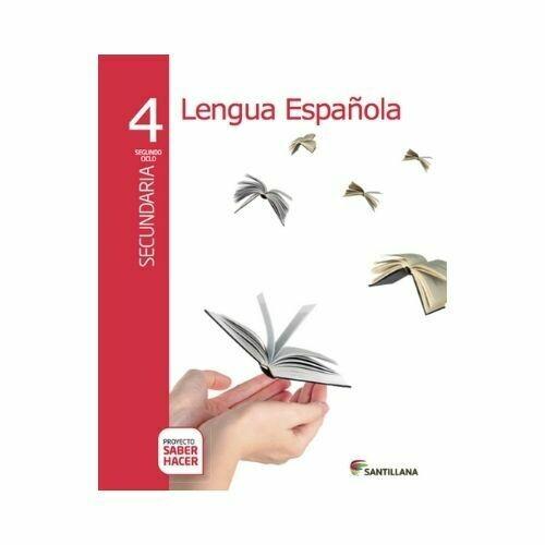 Pack Lengua Española 4. Secundaria. Serie Saber Hacer. Santillana