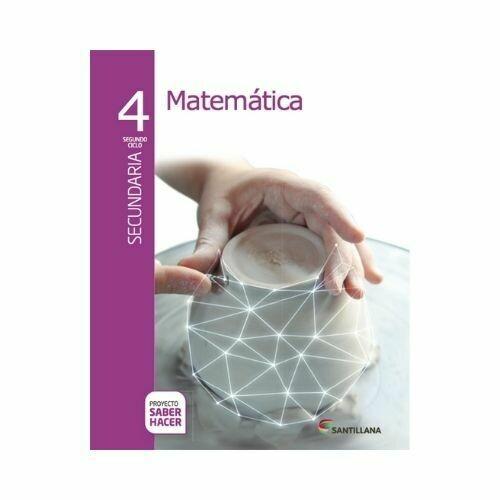 Pack Matematicas 4. Secundaria. Serie Saber Hacer. Santillana