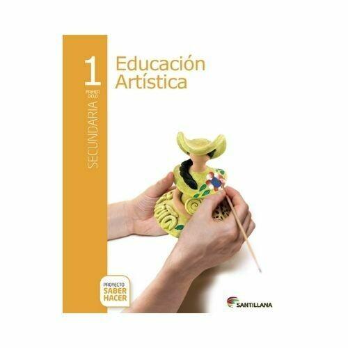 Educacion Artistica 1. Secundaria. Serie Saber Hacer. Santillana
