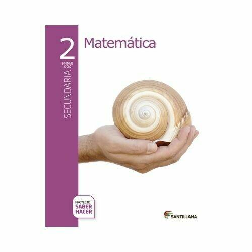 Pack Matematicas 2. Secundaria. Serie Saber Hacer. Santillana