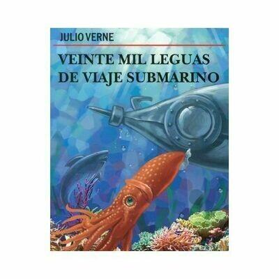 Veinte Mil Leguas de Viaje Submarino. Julio Verne. Loqueleo. Santillana