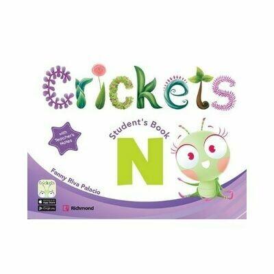 "Kit Crickets ""N"" Nursery (ST+CD+Resource CD). Richmond - Santillana"