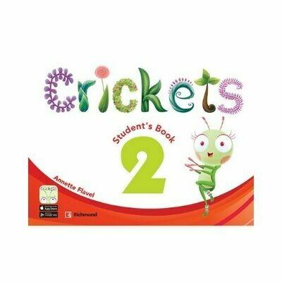 Pack Crickets 2 (ST+CD+Tales+PB). Richmond - Santillana