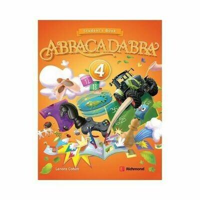 Kit Abracadabra 4 (SB + CD). Richmond - Santillana