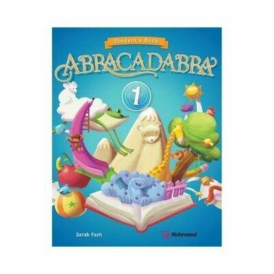 Kit Abracadabra 1 (SB + CD). Richmond - Santillana