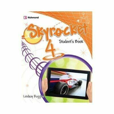 Pack Skyrocket 4 (SB+Pract.+CD+Grammar). Richmond - Santillana