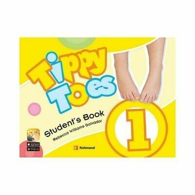 Pack Tippy Toes 1 (SB+CD+STI+Letter+Act). Richmond - Santillana