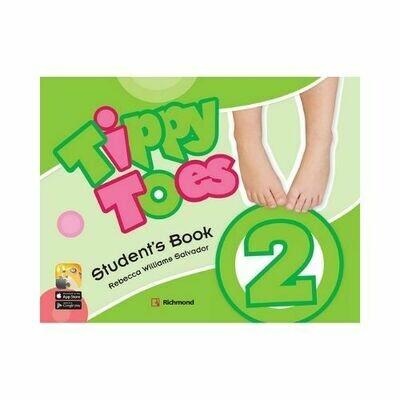Pack Tippy Toes 2 (SB+CD+STI+Letter+Act). Richmond - Santillana