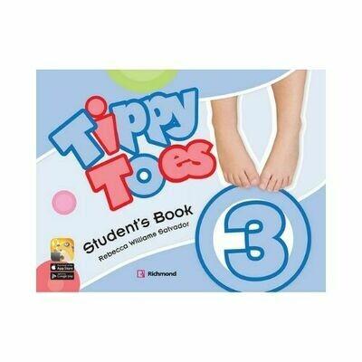 Pack Tippy Toes 3 (SB+CD+STI+Letter+Act). Richmond - Santillana