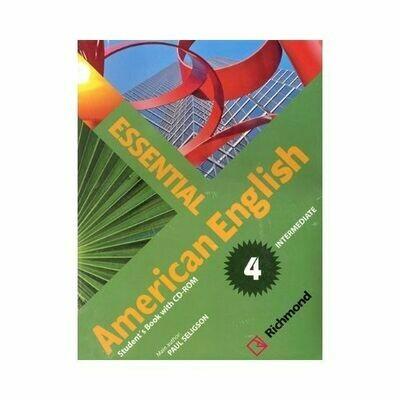 Kit Essential American English 4 (SB+CD Rom). Richmond - Santillana