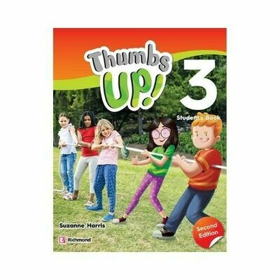 Pack Thumbs Up! 2ED 3 (SB+PB+CD+TEST+RB). Richmond - Santillana