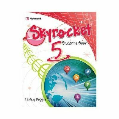 Pack Skyrocket 5 (SB+Pract.+CD+Grammar). Richmond - Santillana