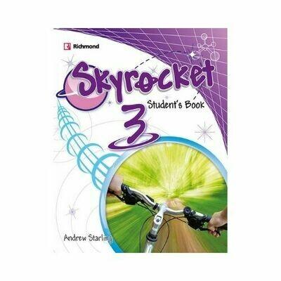 Pack Skyrocket 3 (SB+Pract.+CD+Grammar). Richmond - Santillana