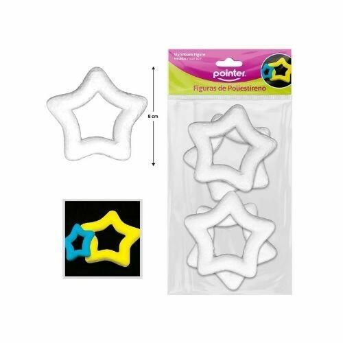 Estrella Blanca en Foam 8 CM Pointer 4/1
