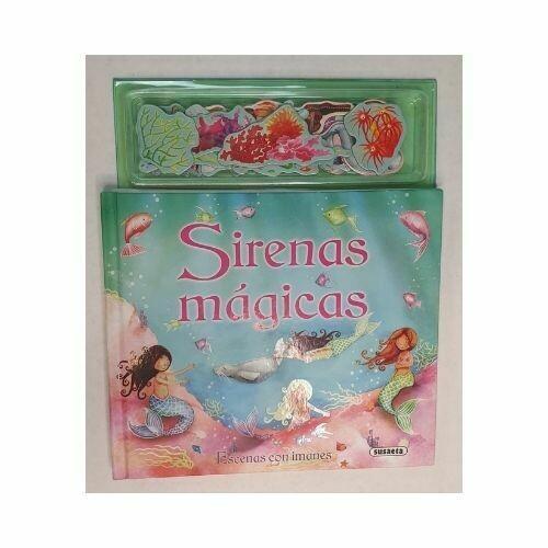 Libro de cuentos Sirenas Mágicas. Colección Escenas con Imanes