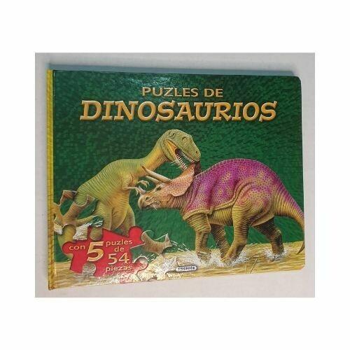 Dinosaurios. Libro de Rompecabezas