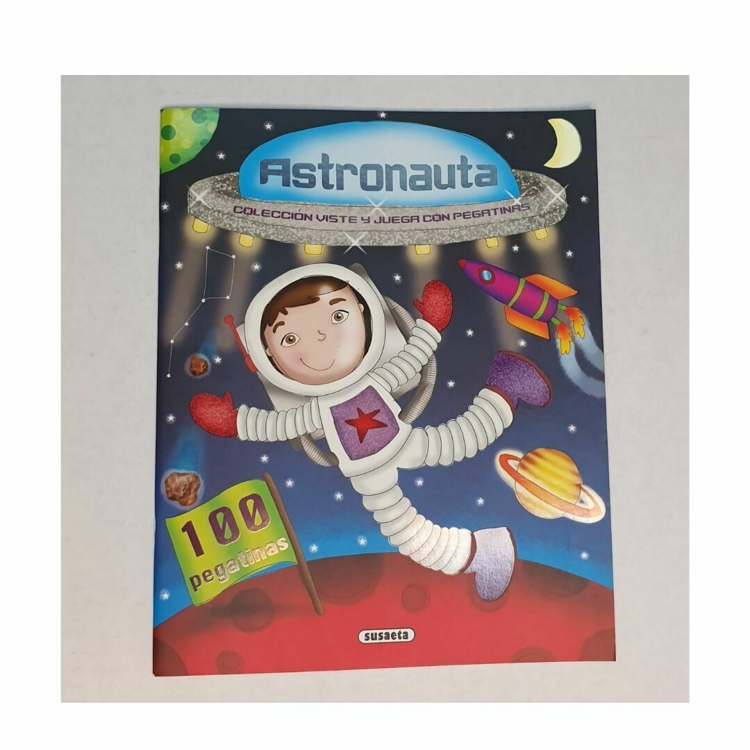 Astronauta. Coleccion Viste y Juega con Pegatinas