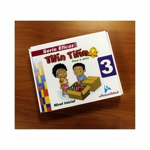 Maletin Tilin Tilin 3. Serie Eficaz. Nivel Inicial. Actualidad