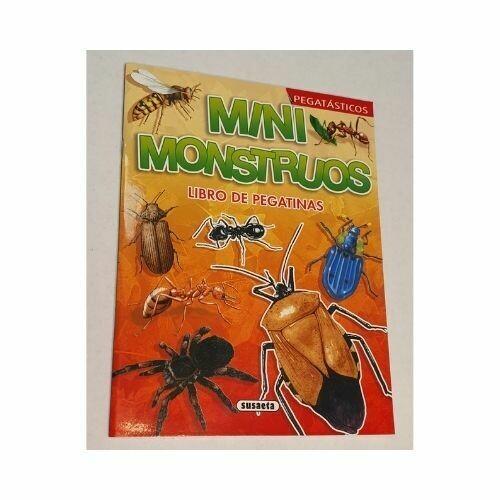 Mini Monstruos. Coleccion Pegatasticos.
