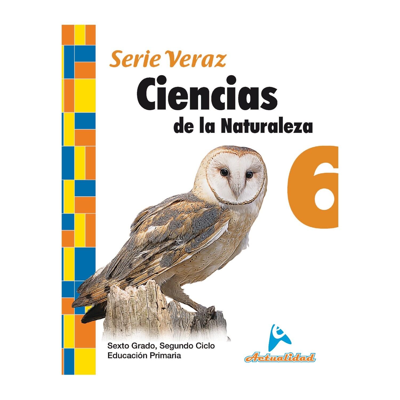 Ciencias de la Naturaleza 6. Serie Veraz. Primaria. Actualidad
