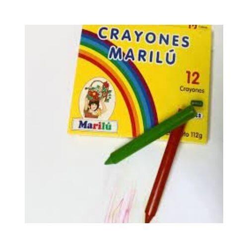 Crayones Marilu (12 Colores). Susaeta