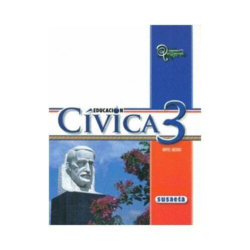 Educacion Civica 3. Serie Quisqueya. Susaeta
