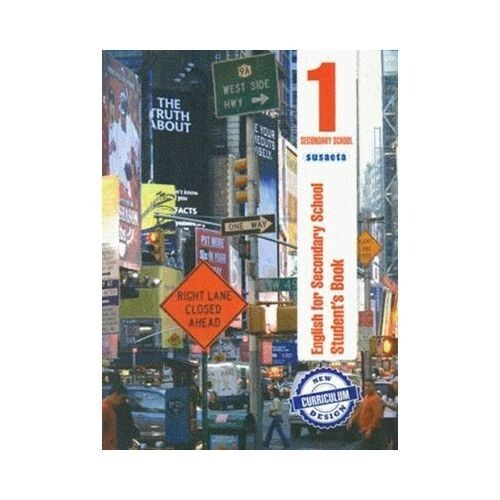 English for Secondary 1 - Student's Book. Susaeta