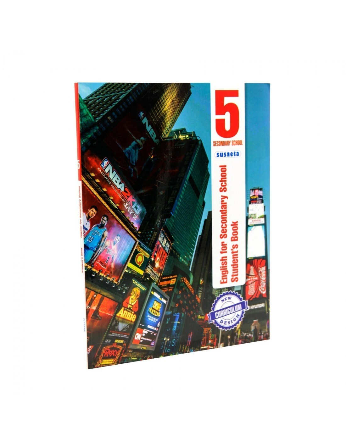 English for Secondary 5 - Student's Book. Susaeta