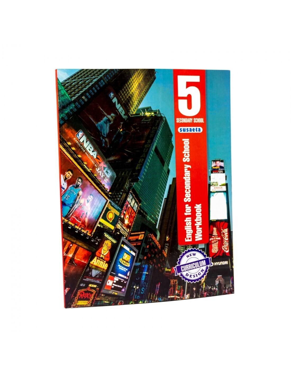 English for Secondary 5 - Workbook. Susaeta