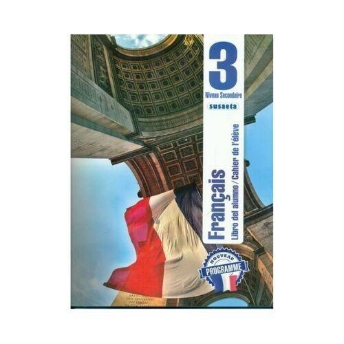 Francais (Frances) No. 3. Libro del Alumno. Secundaria. Susaeta