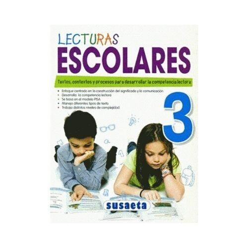 Lecturas Escolares No. 3. Susaeta