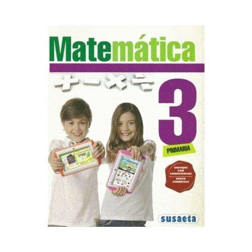 Matematica 3. Primaria. Susaeta