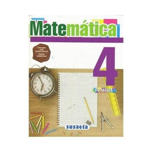 Matematica 4. Primaria. Susaeta