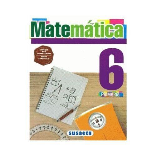 Matematica 6. Primaria. Susaeta