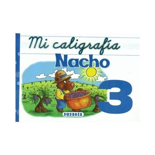 Mi Caligrafia Nacho No. 3. Susaeta