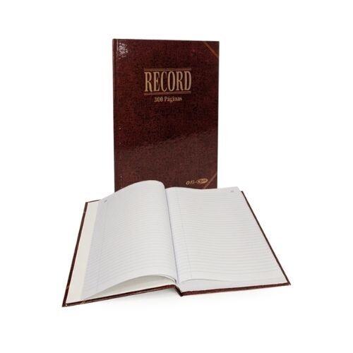 Libro Record 300 Paginas