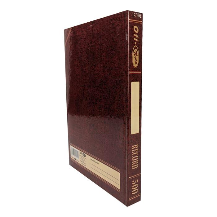 Libro Record 500 Paginas