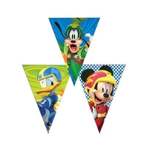 Banderines Mickey Aventura Sobre Ruedas