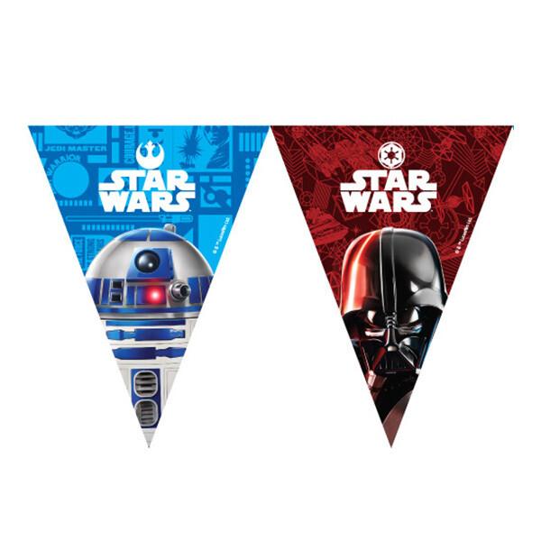Banderines Star Wars 10/1