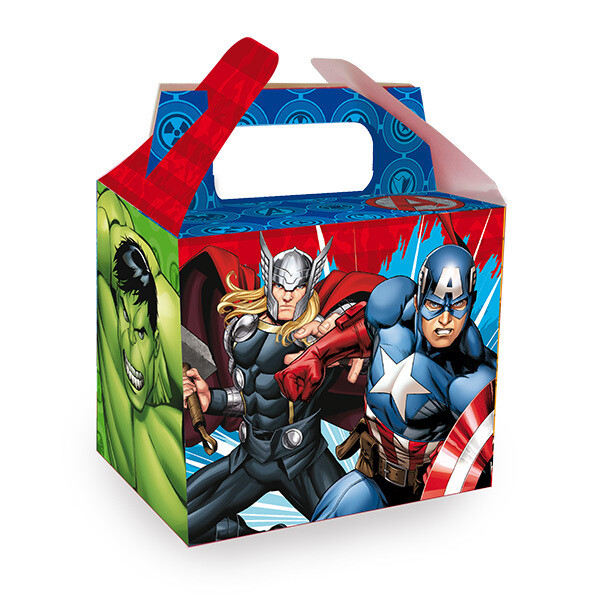 Caja Para Dulce Avengers 6/1